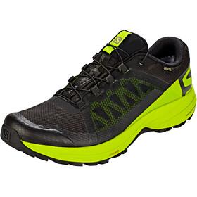 Salomon XA Elevate GTX Shoes Men black/lime green/black